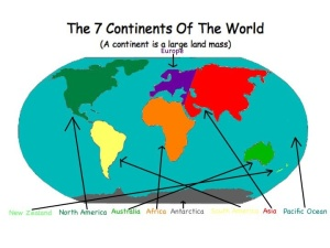 The 7 Continent s of the World